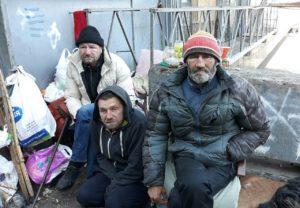помощь бездомным