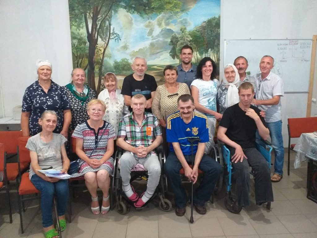 помощь бездомным в Украине