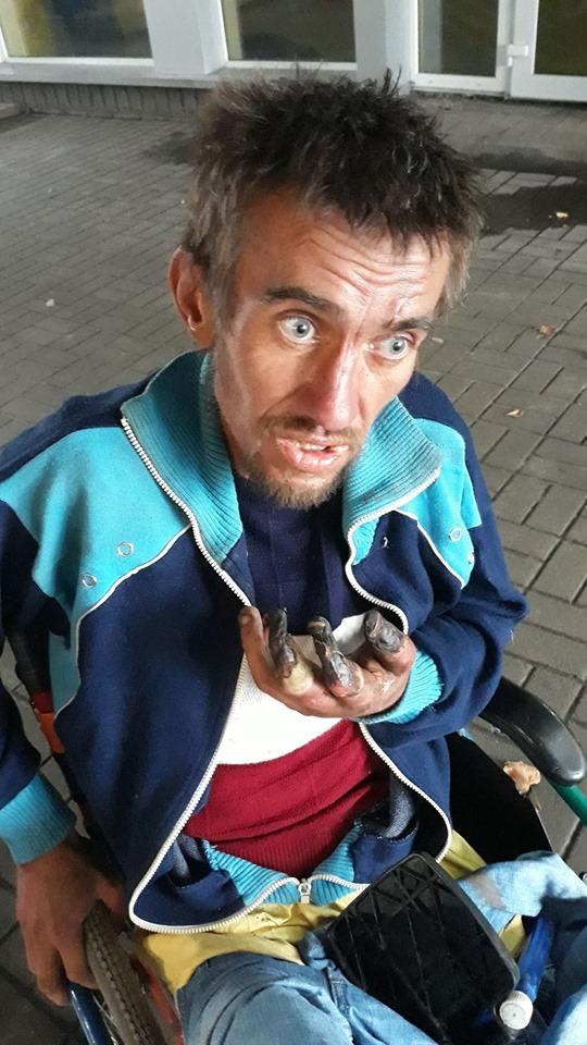 бездомнім помощь
